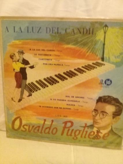 Disco 10 Osvaldo Pugliese Y Su Orq. Típica. Año 1955.