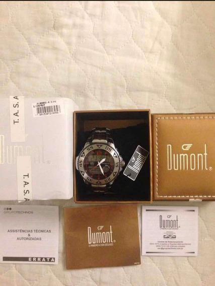 Relógio Dumont Anadigi Na Caixa