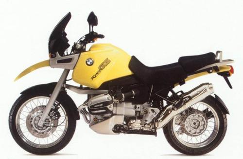 Imagem 1 de 2 de Par Adesivo Compatível Com Moto R1100gs Amarela Bwr1100gs4