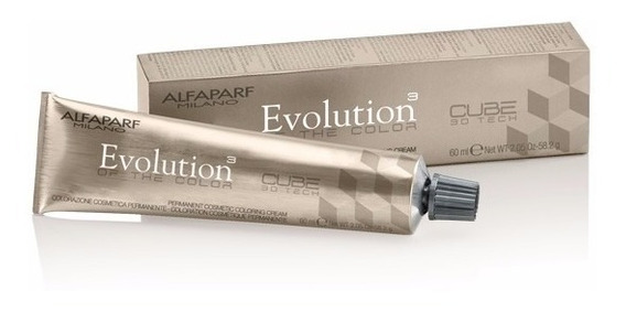 Tintura Alfaparf Evolution Of The Color Cube Profesional 60g