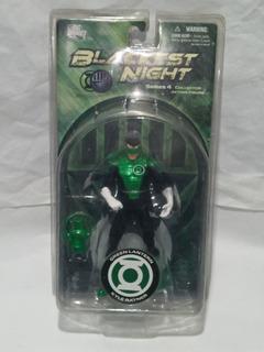 Figura Dc Comics Muñeco Linterna Verde Kyle Ryner Blackest