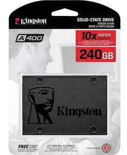 Disco Solido 240gb Ssd Kingston A400 Sata 3 Laptop Pc Nuevo
