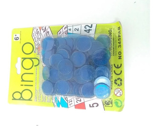 100 Fichas De Bingo Con Imán Lotería Juego De Mesa Paquete
