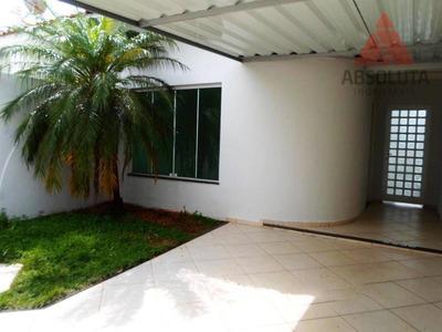 Casa Residencial Para Locação, Morada Do Sol, Americana. - Ca0282