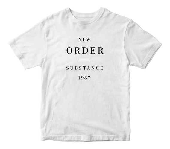 Nostalgia Shirts- New Order Substance 1987