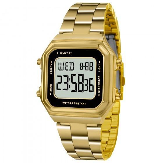 Relógio Lince Sdg615l Bxkx Feminino Dourado - Refinado