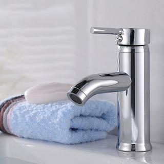 Torneira Monocomando Banheiro Misturador Cilíndrico Baixa