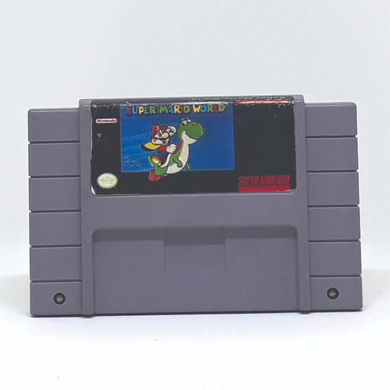 Super Mario World Snes! Loja Física!