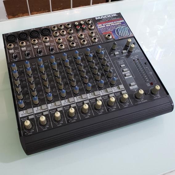Mesa De Som Mixer Mackie 1202 Vlz Pro Excelente Estado