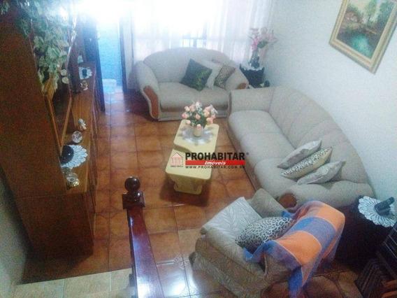 Sobrado Com 2 Dormitórios À Venda, 180 M² Por R$ 560.000,00 - Jardim Satélite - São Paulo/sp - So3077