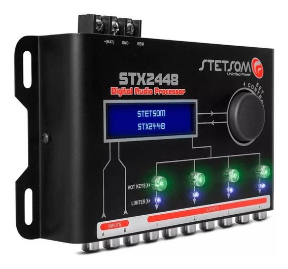 Processador Equalizador Crossover Stetsom Stx-2448 2448