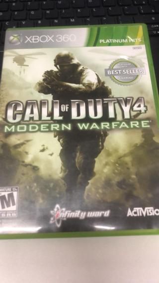 Call Of Duty Modern Warfare 4 Xbox 360 Midia Física Usado