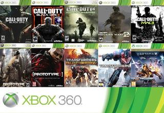 :o Paquete De Juegos Xbox 360 Contenido Digital