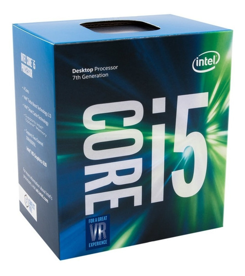 Processador Intel Core I5-7400 (lga1151 - 4 Núcleos - 3.0ghz) - Bx80677i57400