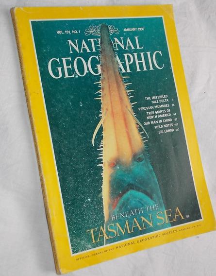 Revista National Geographic Janeiro 1997 Tasman Sea