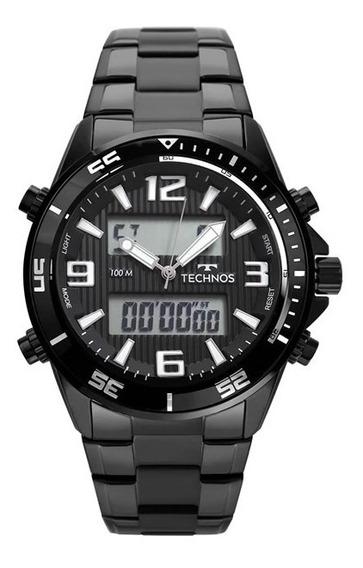 Relógio Technos Masculino Preto Tc131017c/4p
