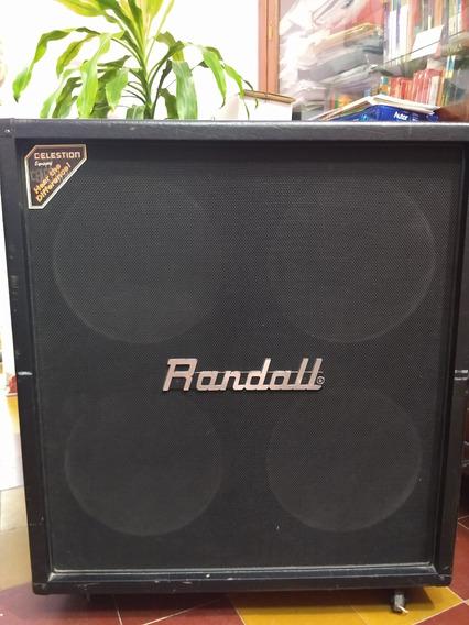 Caja Randall 412 Celestion Seventy80 Precio X Tiempo Limitad