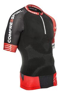 Remera Compresión Compressport Trail Running Shirt V2 Ss