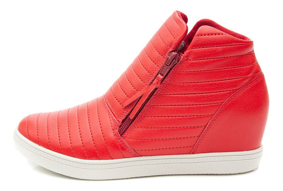 Tênis Sneaker Orcade Em Couro Com Textura Ferrari