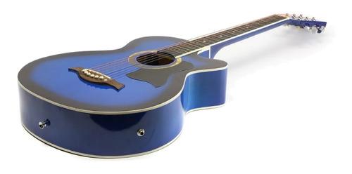 Guitarra electroacústica Femmto AG002  azul