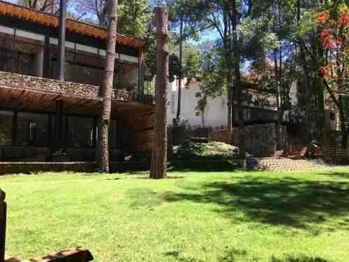 740- Extraordinaria Casa En Venta En Bosque Verde Valle De Bravo