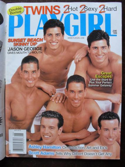 G Magazine Playgirl Magazine - Jun/1999