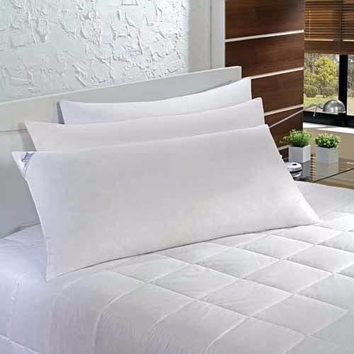 4 Travesseiro King 90x50 Fibra Siliconada 100% Algodão