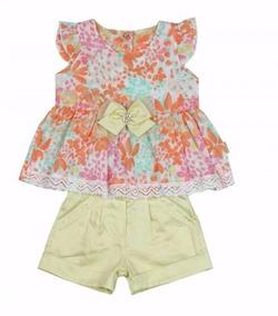 Conjunto Infantil Menina- Paraíso Moda Bebê