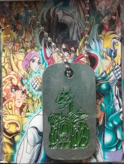 Collar Metalico Del Dragon De Bronce