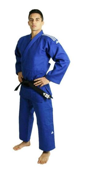 Kimono Judô Champion Ii Selo Ijf 150 Azul adidas