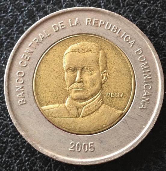 República Dominicana - Moneda De 10 Pesos, Año 2008 - Excelente