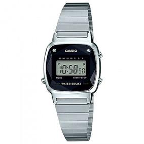 Relógio Casio Unisex La670wad-1df Prata