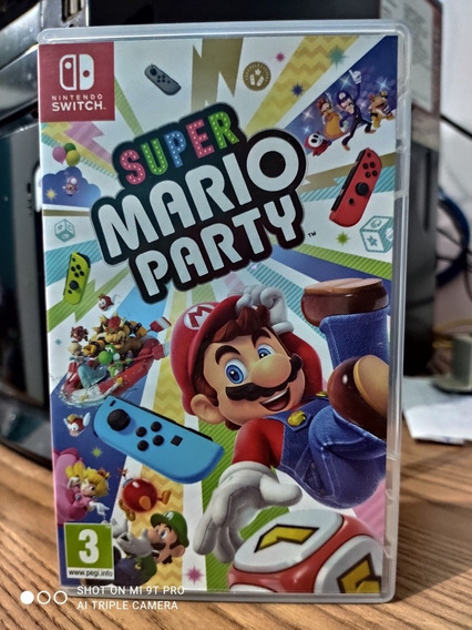 Super Mario Party Switch Semi-novo Impecavel + Brinde