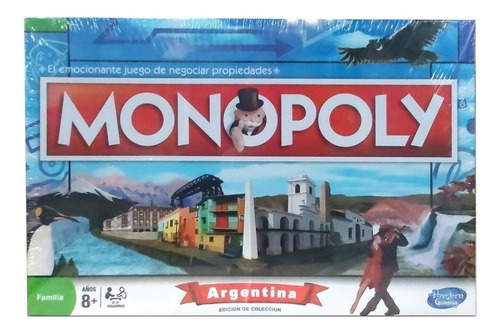 Imagen 1 de 4 de Juego de mesa Monopoly Argentina ToyCo