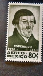 Timbre Postal Copérnico 1473-1543 Nuevo Envio $20 Pesos