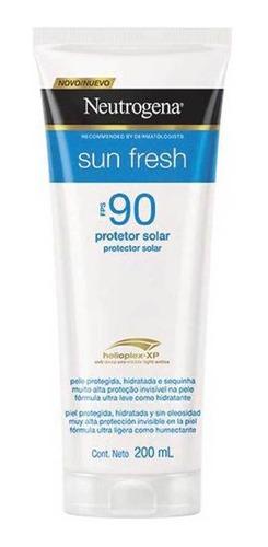 Protetor Solar Neutrogena Sunfre Fresh Fps90 200ml