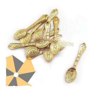 15 Dijes Cucharita Tenedor Mini Cuchara Decoración Souvenir
