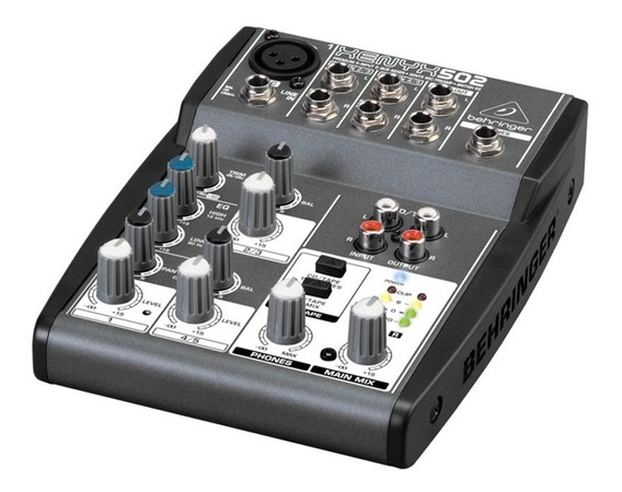 Mesa De Som Behringer Xenyx 502 Mixer Xenyx502