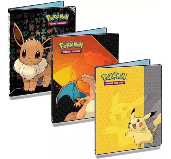 2 Pasta Para Cartas Oficial Pokémon - Álbum