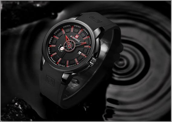 Relógio Naviforce Pulseira De Silicone Original Promoção