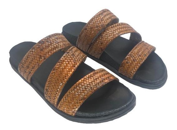 Zapato Mujer Sandalia Natacha Trenza En Z #226