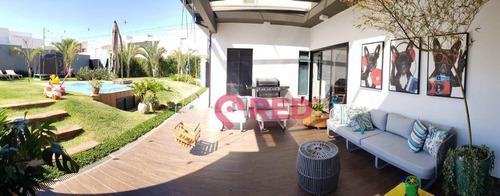 Casa Com 3 Dormitórios À Venda, 300 M² Por R$ 2.200.000,00 - Jardim Residencial Chácara Ondina - Sorocaba/sp - Ca0186