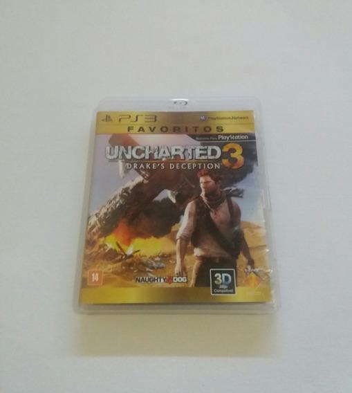 Uncharted 3 Para Ps3 Play 3 Português Mídia Física