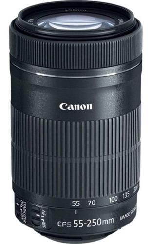 Imagem 1 de 4 de Lente Canon Ef-s 55-250mm F/ 4-5.6 Is Stm Pronta Entrega
