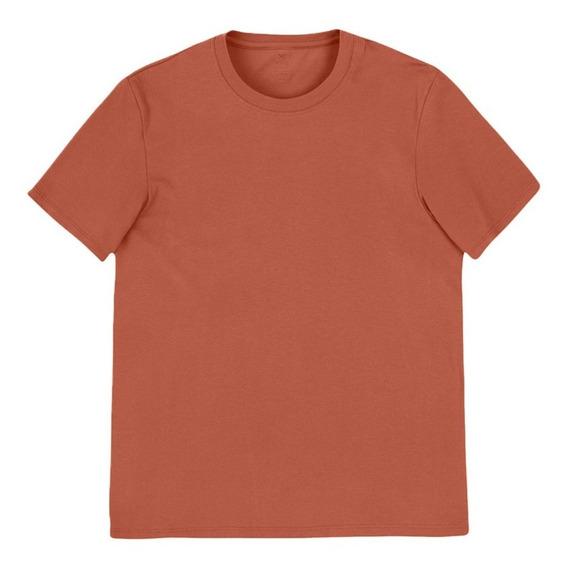 Kit 02 Camisetas Básica Masculina Mangas Curtas World Hering