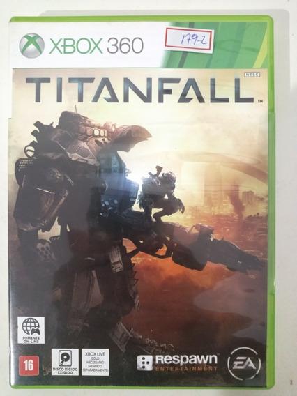 Jogo Xbox 360 Titanfall Ntsc Original Lote179