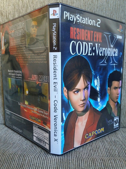 Resident Evil Code Veronica Legendado Playstation 2 - Patch