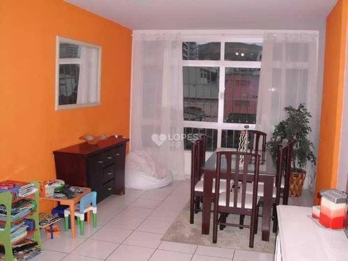 Apartamento À Venda, 105 M² Por R$ 660.000,00 - Icaraí - Niterói/rj - Ap43541