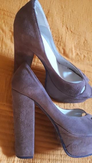 Zapatos Gamuzados N 35