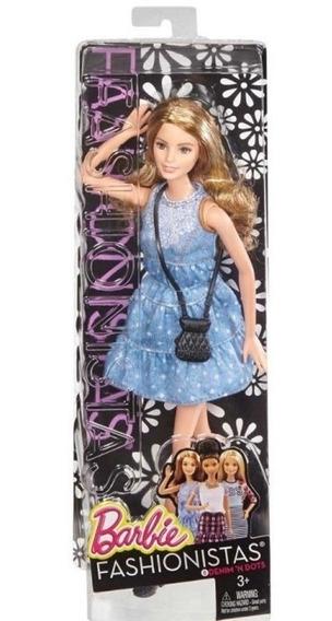 Boneca Barbie Fashionistas Denim At Dots Raríssima E Única